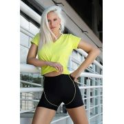 LOOK BLUSA K + BERMUDA BIKER TOP MODEL