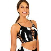 CROPPED STAR WORLD BRANCO TOP MODEL