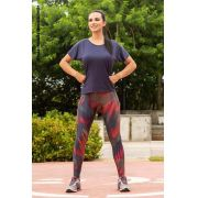 LEGGING SUPPLEX TRILOBAL FIT BRONZE CÓS ANATÔMICO TOP MODEL