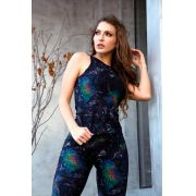REGATA ESTAMPADA CASUAL DOUBLE SPACE TOP MODEL