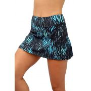 SHORTS-SAIA LIGHT TIGRE AZUL TOP MODEL