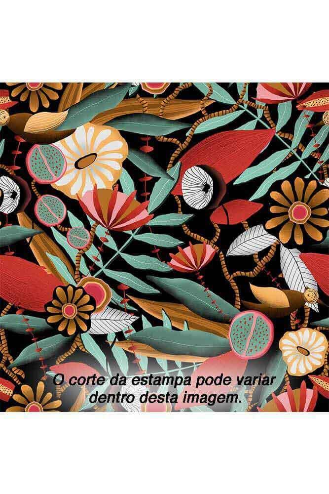 TOP DE BIQUÍNI CORTININHA COM BOJO ROMÃ LUA MORENA