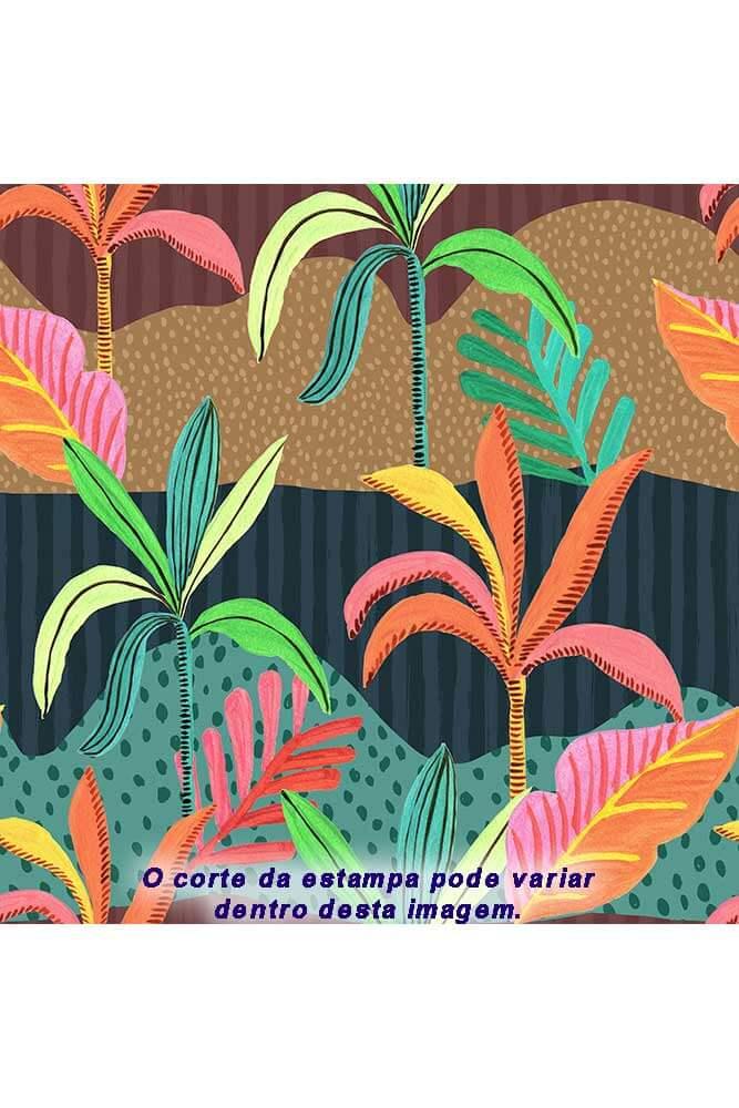 BIQUÍNI DE AMARRAR ROLETÊ CORAÇÃO LUAU POP LA PLAYA