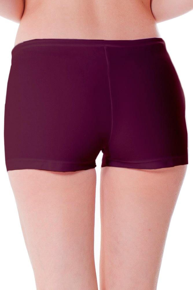 BIQUINI SHORT REGULAGEM ROXO SOUVENIR LA PLAYA