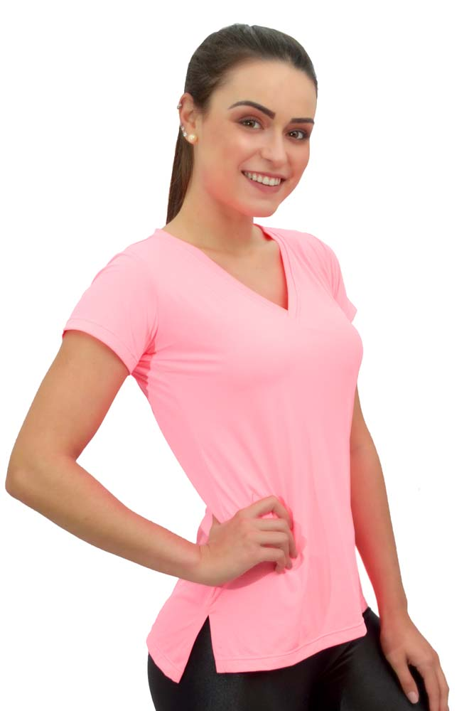 BLUSA FASHION NEW TRIP SALMÃO TOP MODEL