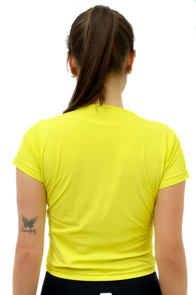 BLUSA MANGA CURTA K VERDE LEMON TOP MODEL