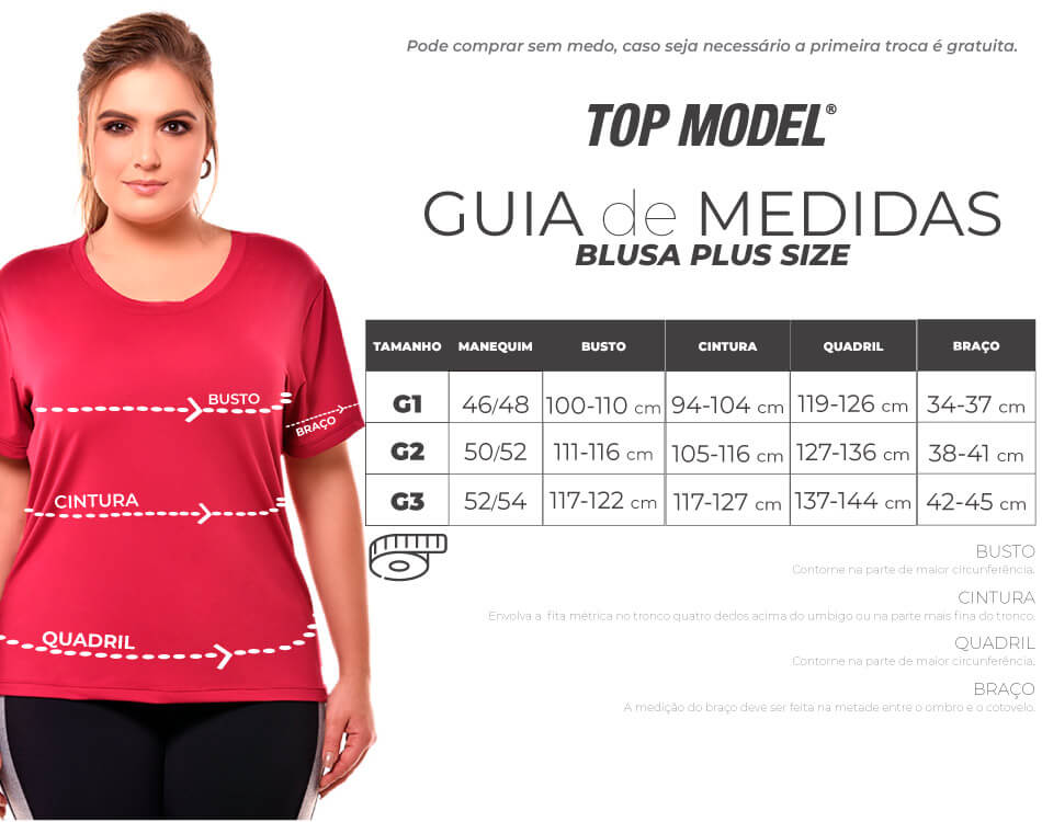 BLUSA PLUS SIZE BORDO