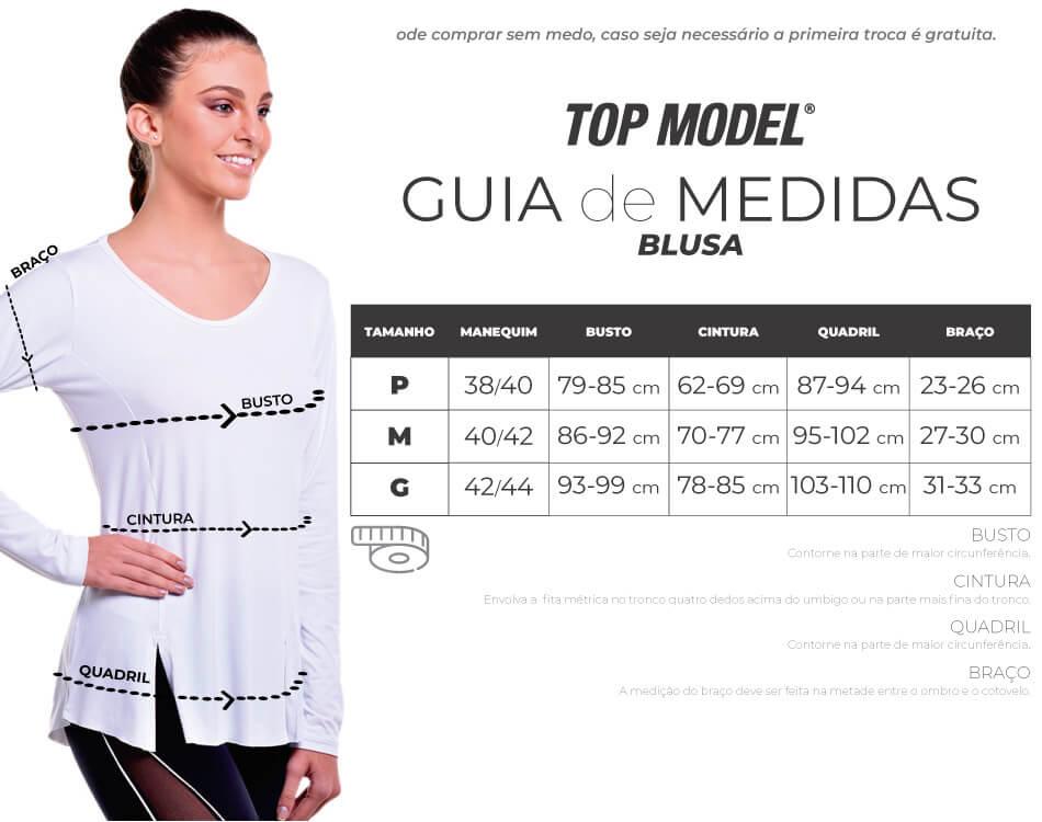 BLUSA RECORTE MODELE MESCLA