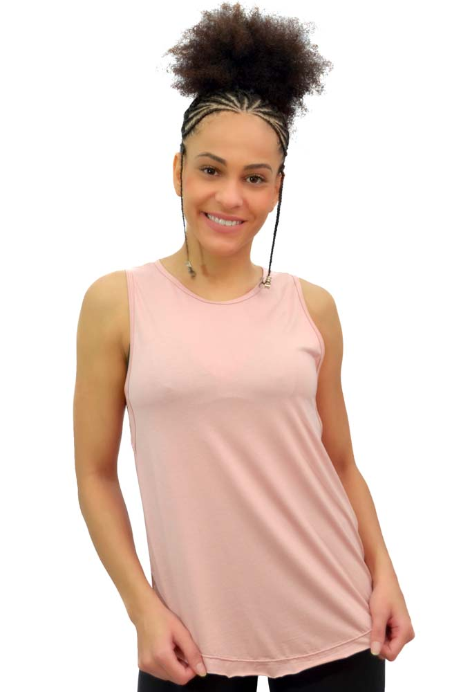 BLUSA REGATA LONG ROSA TOP MODEL