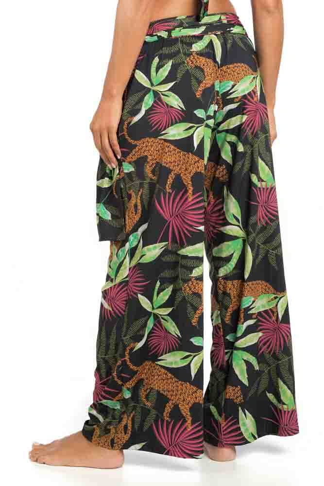 CALÇA DE PRAIA PANTALONA UV JUNGLE LA PLAYA