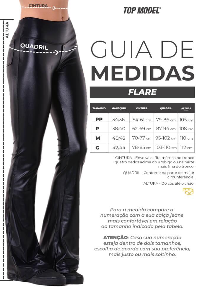CALÇA FLARE MAXI CIRRE MARROM TOP MODEL
