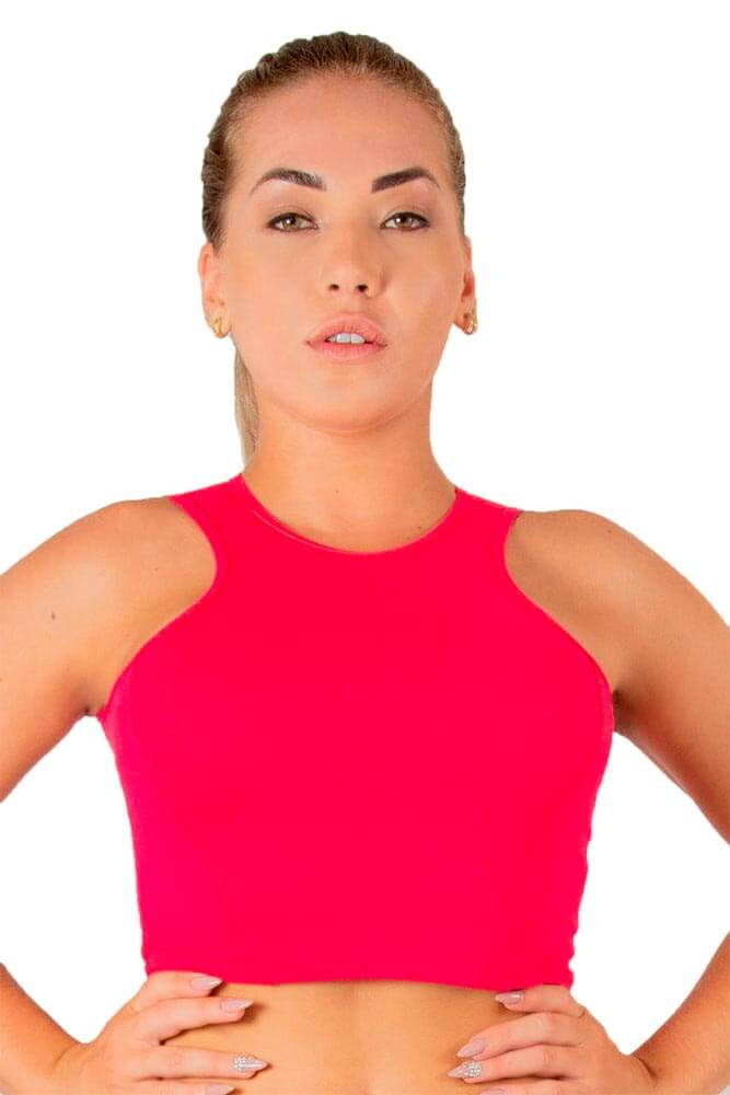 CROPPED ESTILO ROSA TOP MODEL