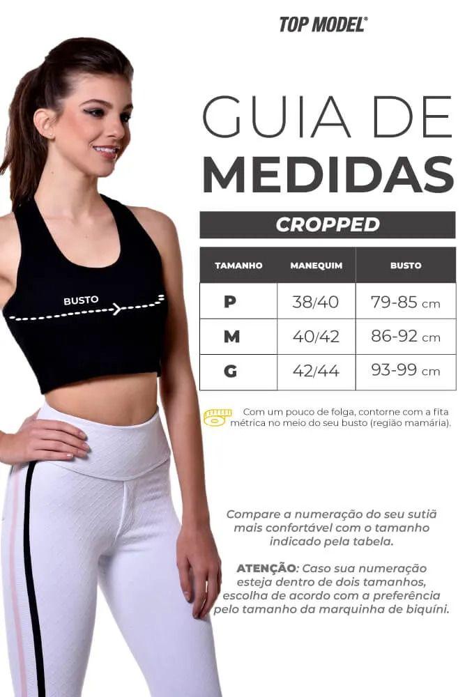 CROPPED ESTILO ROSA TOP MODEL