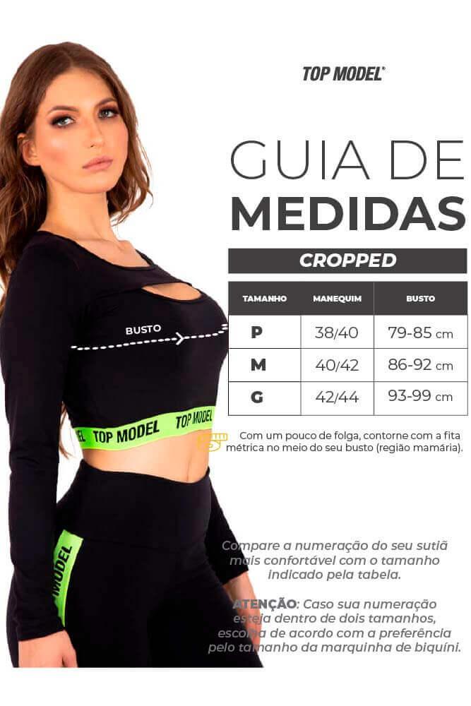 CROPPED SELLER DECOTADO ROSA TOP MODEL