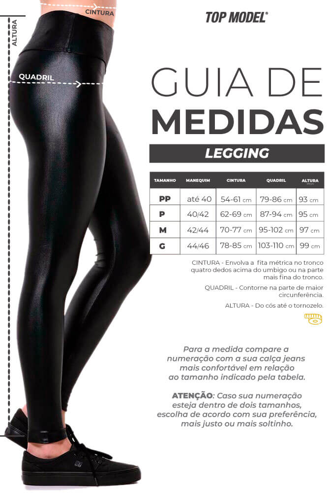 LEGGING CIRRE ANNETTE PRETO TOP MODEL