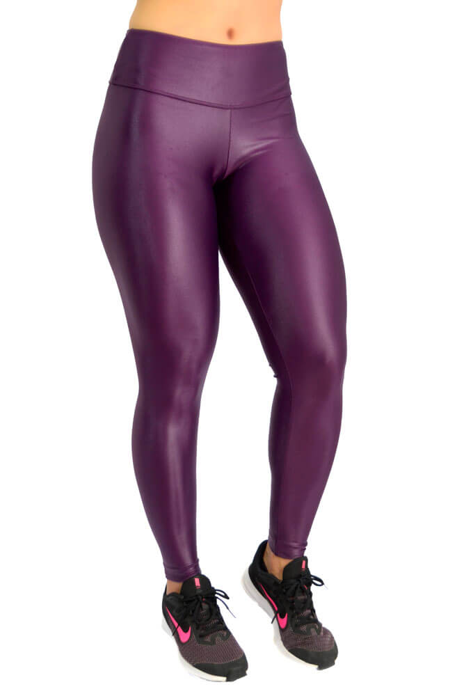 LEGGING CIRRE CÓS ANATÔMICO ROXO TOP MODEL
