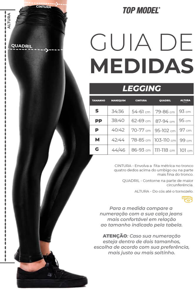 LEGGING CIRRE CÓS FRANZIDO ROXA TOP MODEL