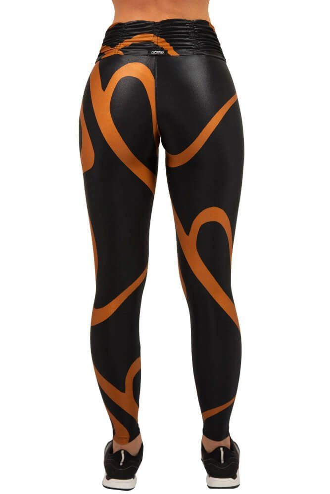 LEGGING CIRRE POWER SPORT WORLD MARROM TOP MODEL