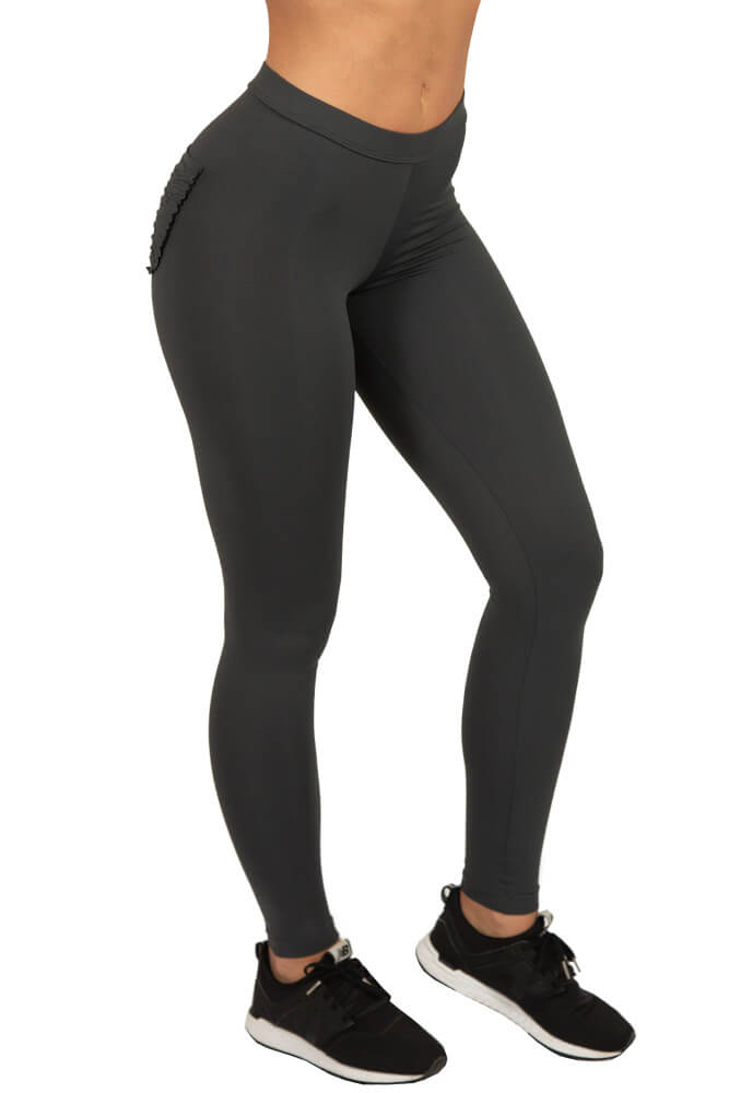 LEGGING HELLEN SUPPLEX CINZA TOP MODEL