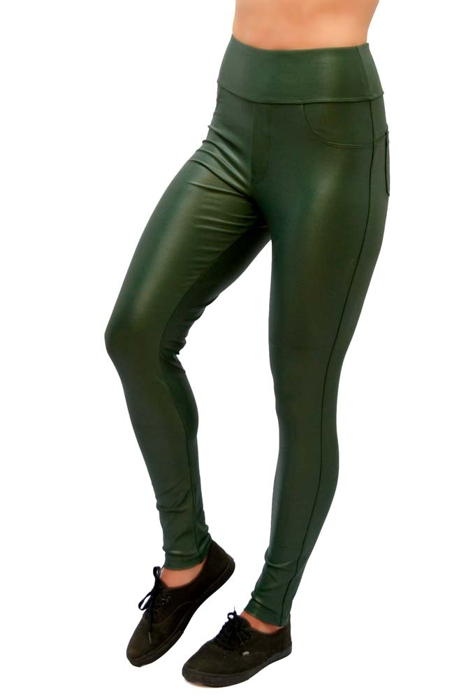 LEGGING HOT PANTS CIRRÊ VERDE CÓS ANATÔMICO TOP MODEL