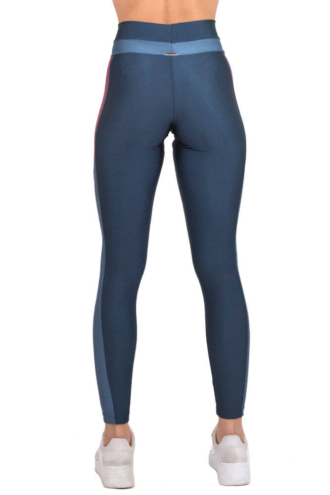 LEGGING LYCRA EXCLUSIVA TRILOBAL AZUL TOP MODEL