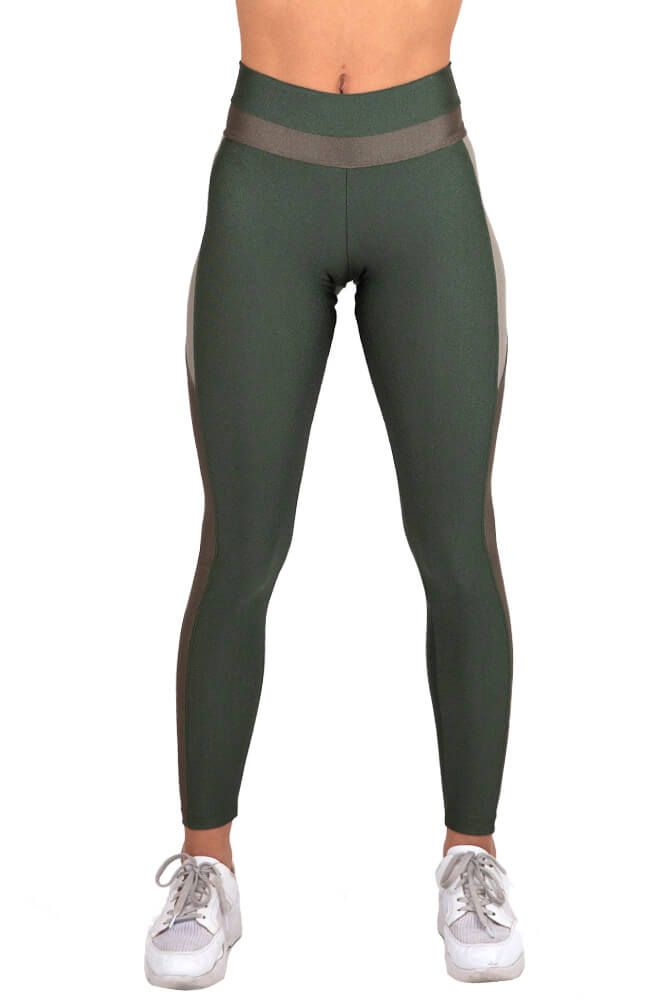 LEGGING LYCRA EXCLUSIVA TRILOBAL VERDE TOP MODEL