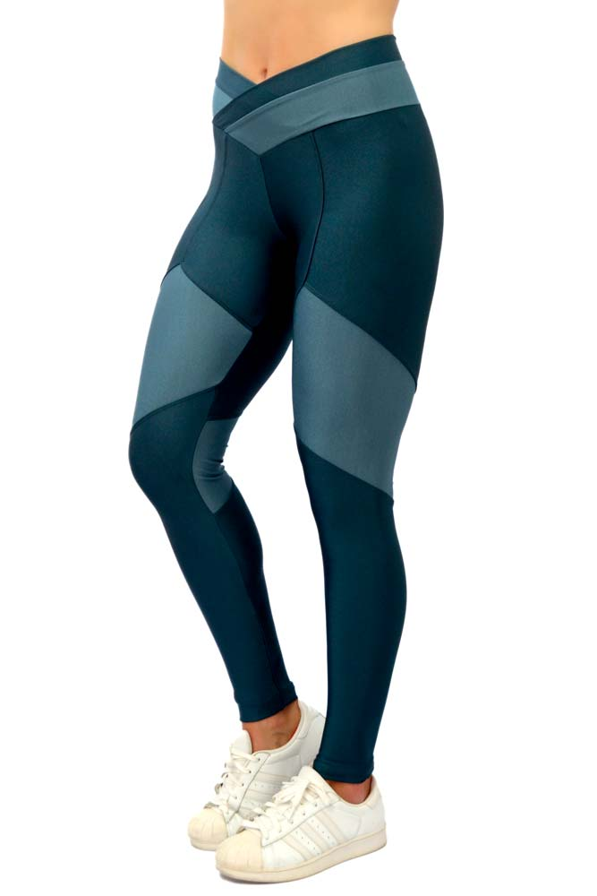 LEGGING LYCRA FRANK AZUL TOP MODEL