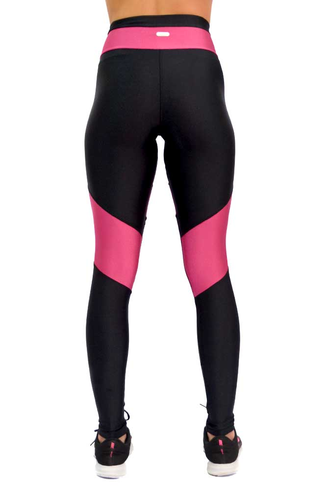 LEGGING LYCRA FRANK PRETO COM ROSA TOP MODEL