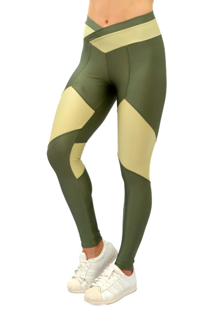 LEGGING LYCRA FRANK VERDE TOP MODEL