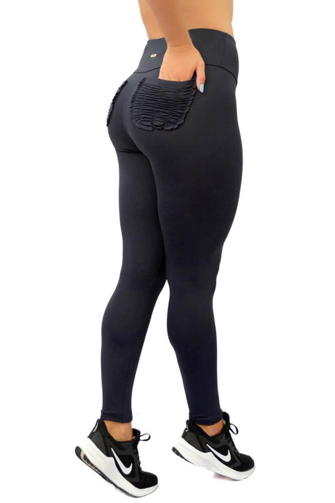 LEGGING LYCRA HELLEN LIGHT PRETO TOP MODEL