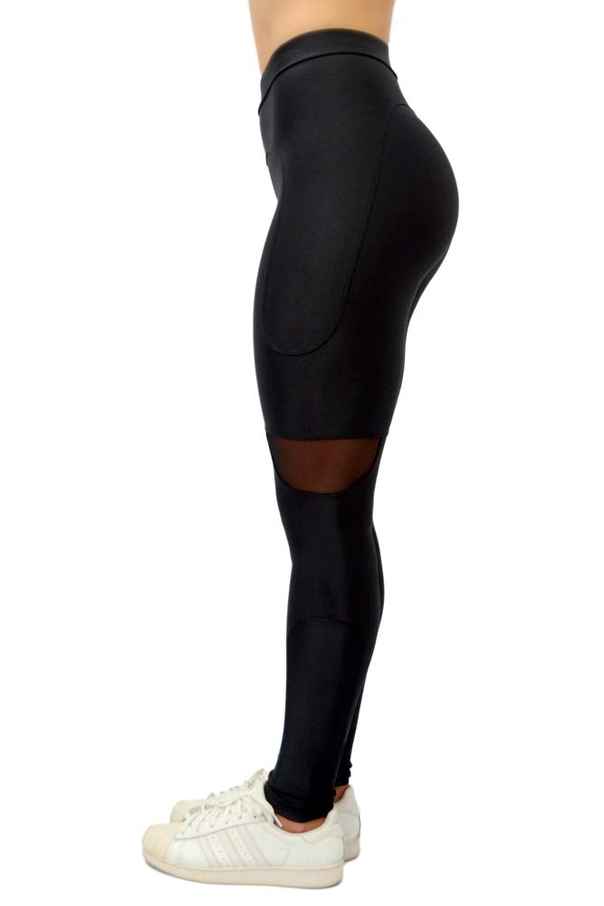 LEGGING LYCRA QUITERIA PRETO TOP MODEL
