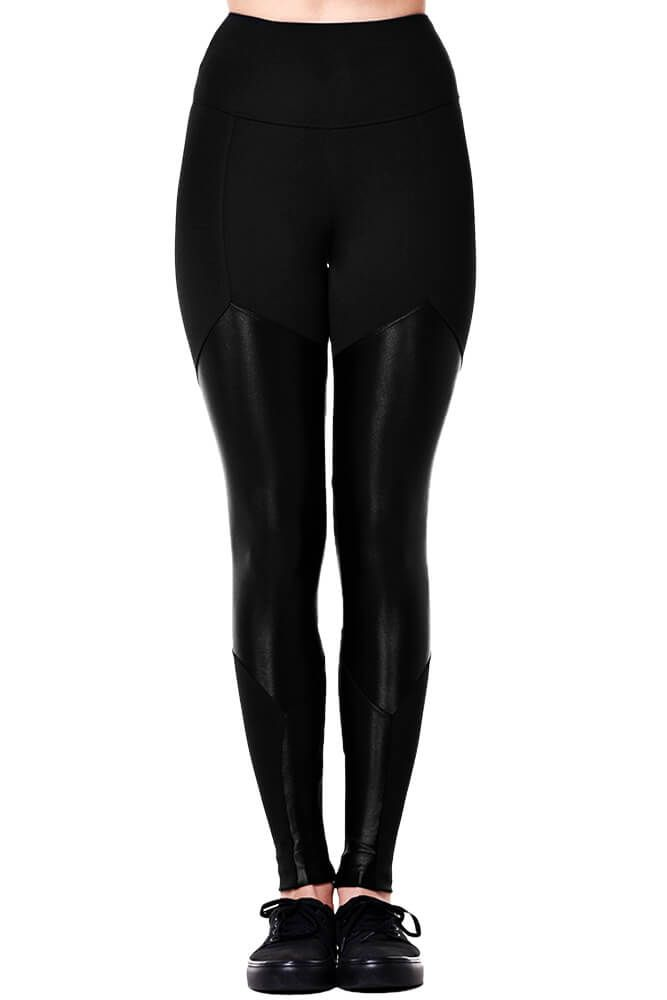 LEGGING MONTARIA EMANA COM CIRRE PRETA TOP MODEL