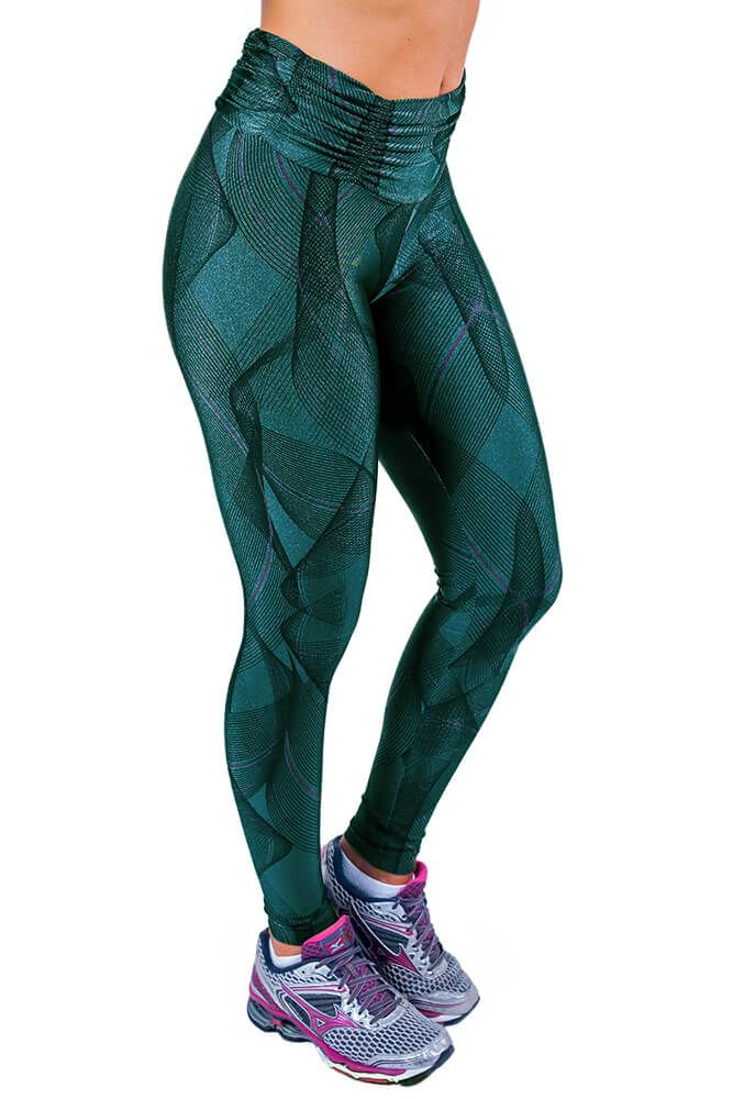 LEGGING SUPPLEX TRILOBAL FIT PALACE CÓS FRANZIDO TOP MODEL