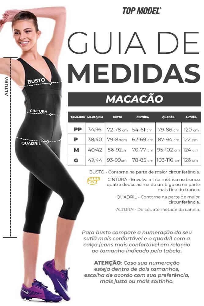 MACAQUINHO CURTO LIGHT MARANTA TOP MODEL