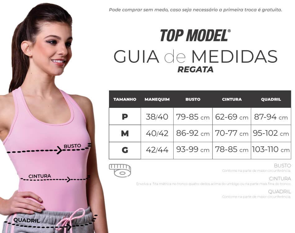 be283182a5 REGATA FEMININA PARA ACADEMIA AZUL MARINHO Top Model