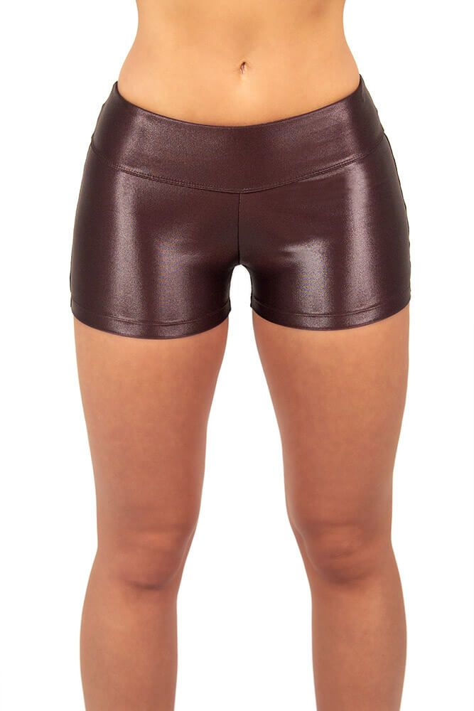 SHORTS CIRRE MARROM TOP MODEL