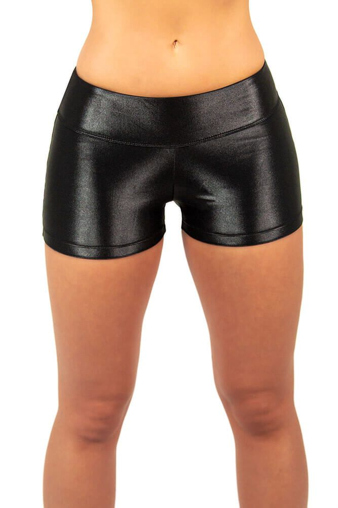 SHORTS CIRRE PRETO TOP MODEL