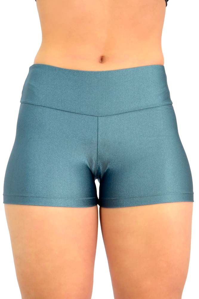 SHORTS LYCRA AZUL GALÁXIA TOP MODEL