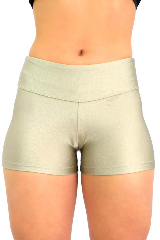 SHORTS LYCRA CINZA ACRÓPOLE TOP MODEL