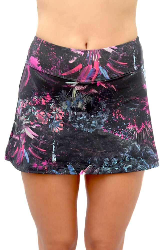 SHORTS-SAIA LIGHT FOREST PINK TOP MODEL