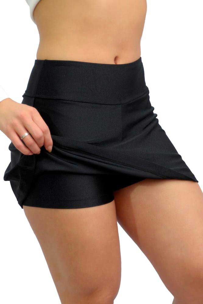 SHORTS-SAIA LYCRA PARA ACADEMIA PRETO TOP MODEL