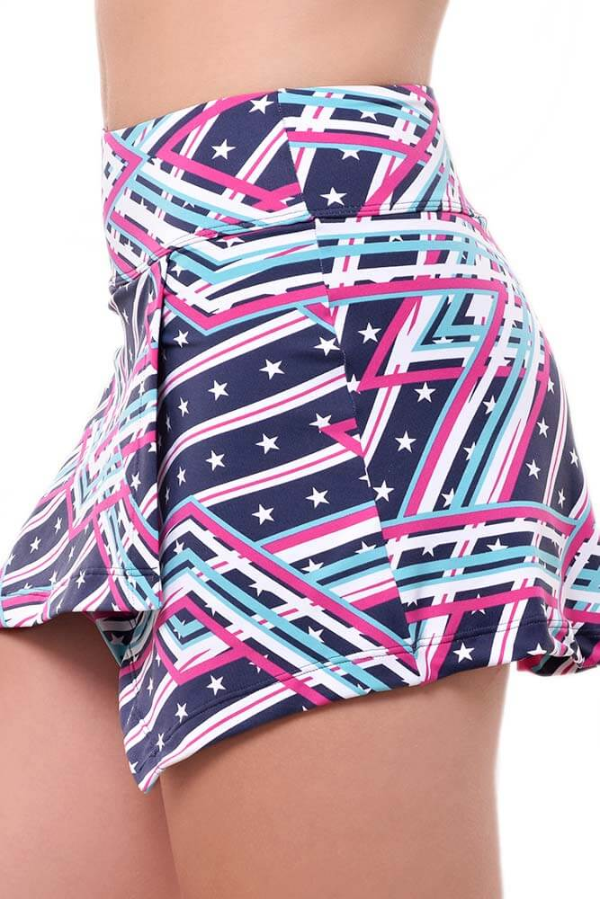 SHORTS-SAIA TRANSPASSADO ESTAMPADO