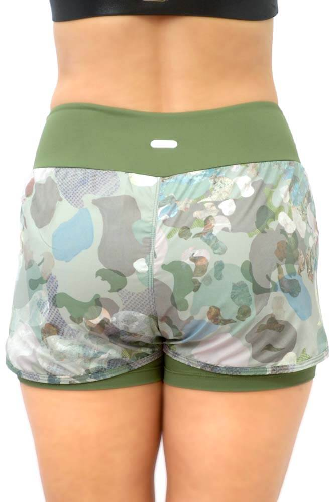 SHORTS SOBREPOSTO CAMUFLADO TOP MODEL