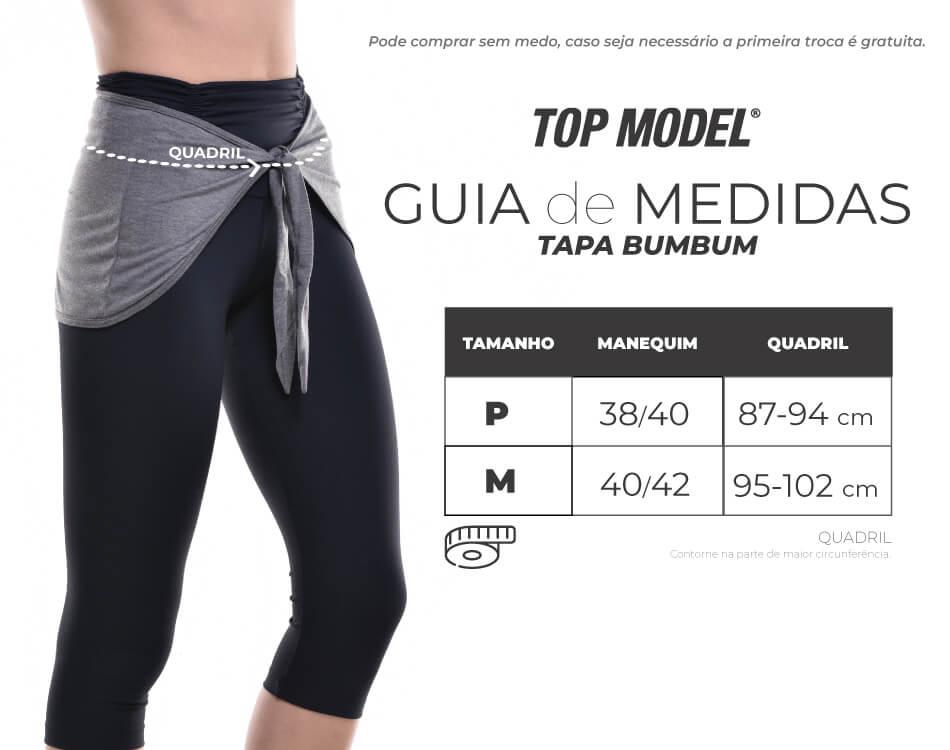 TAPA BUMBUM BRANCO TOP MODEL