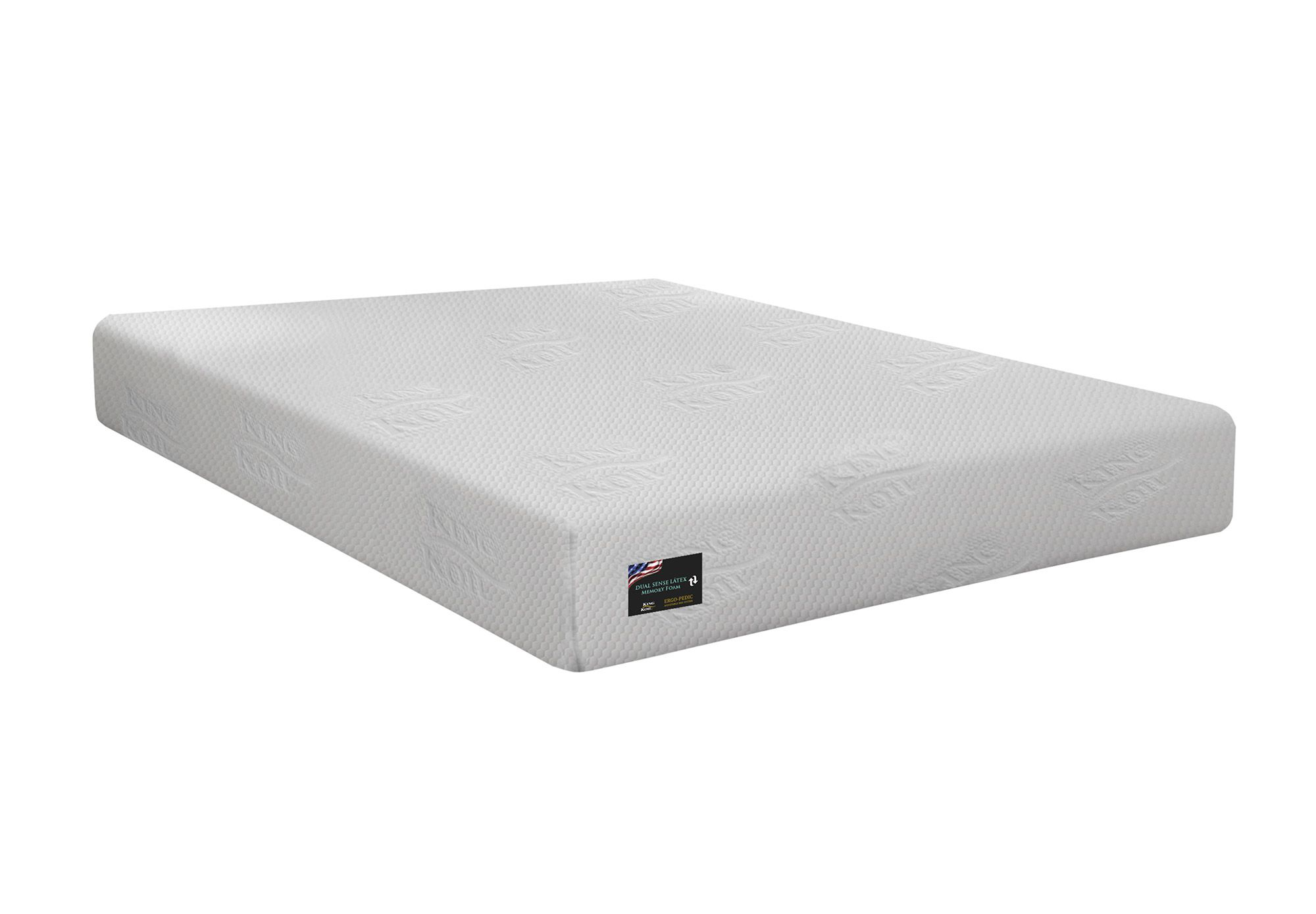 Colchão Ergopedic Dual Sense Latex King Koil 158x198