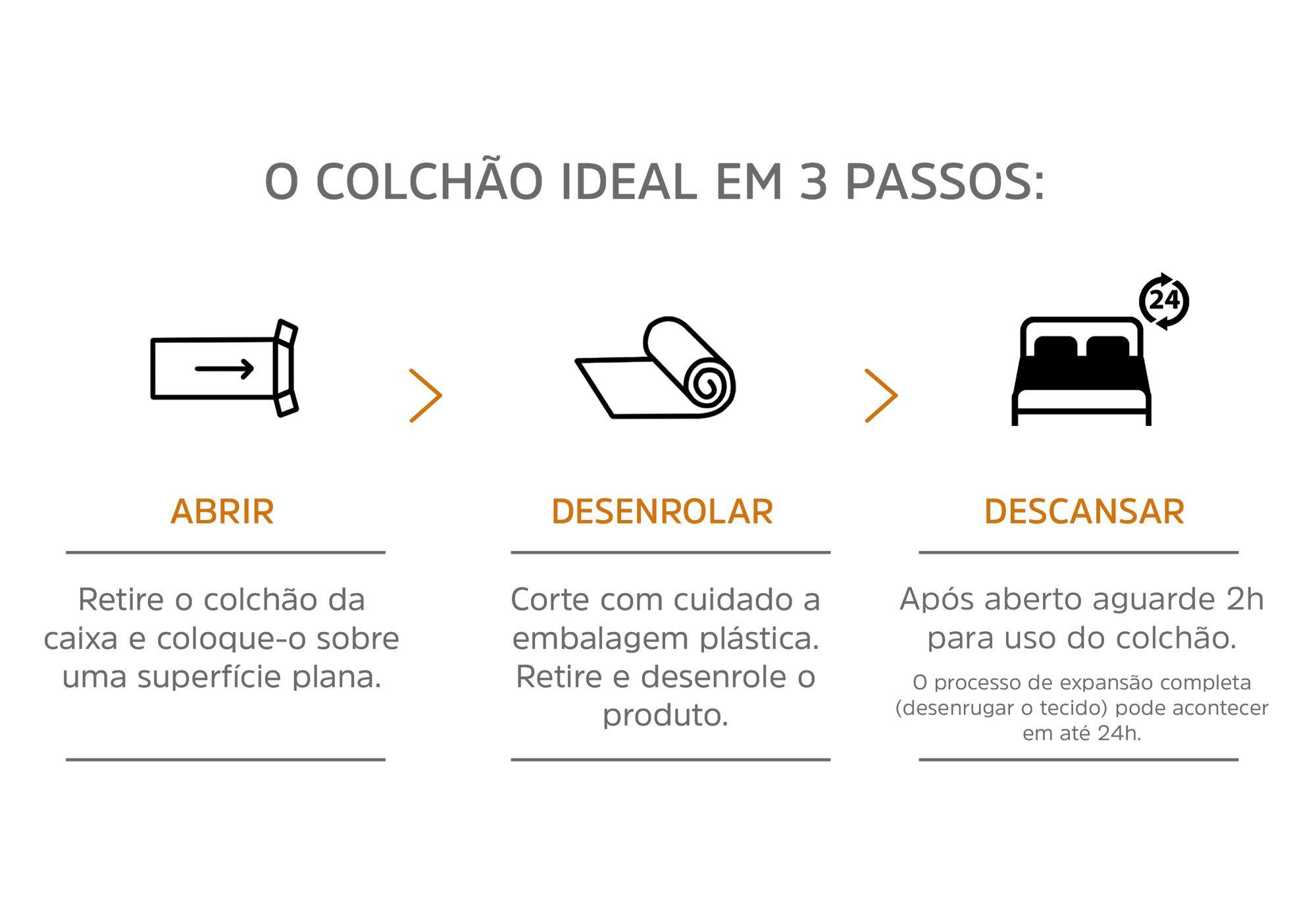 Colchão Inducol Smart Molas Solteiro 88x188