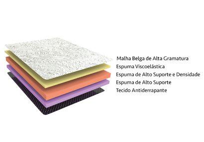 Colchão King Koil Express Comfort Foam Casal 138x188