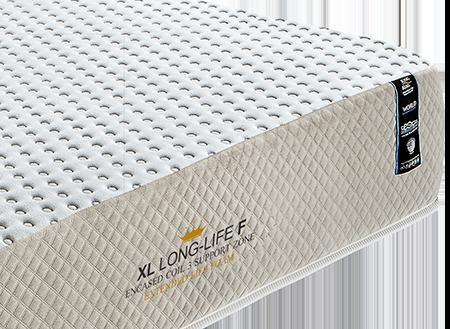 Colchão King Koil XL Long Life Firm Solteiro King 96X203