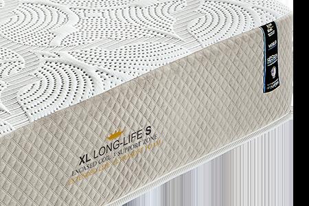 Colchão King Koil XL Long Life Soft Solteiro King 96X203