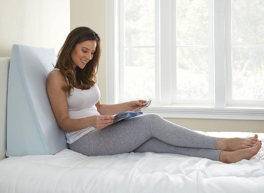 Travesseiro Refluxo Inducol – Encosto Massageador para Leitura